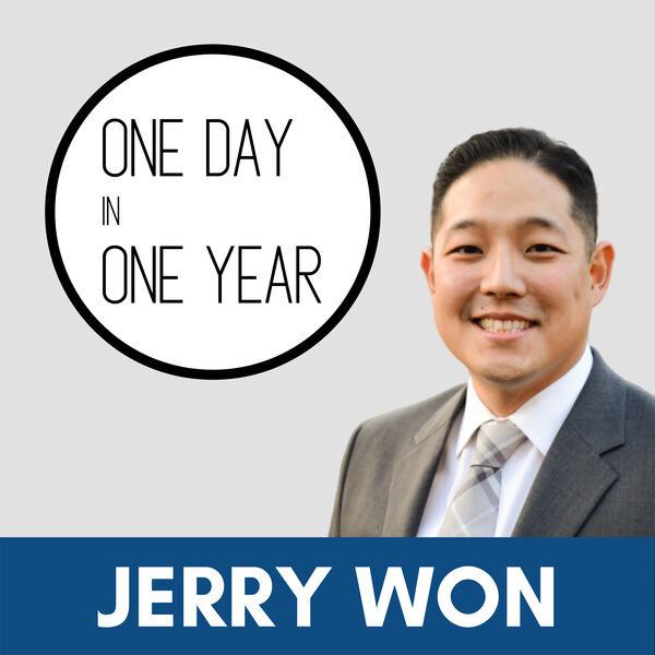 One Day In One Year with Jerry Won Podcast Artwork Image