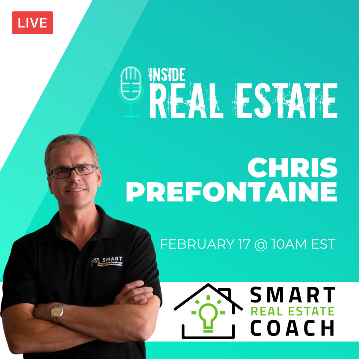 Chris Prefontaine, Smart Real Estate Coach - Money in Real Estate and More