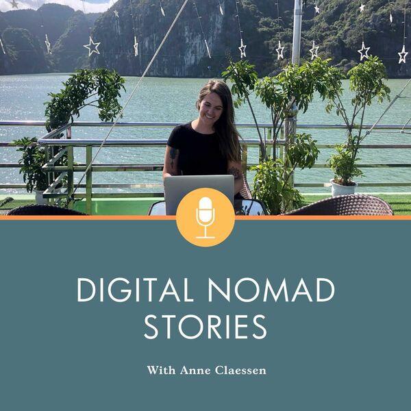 Digital Nomad Stories Podcast Artwork Image