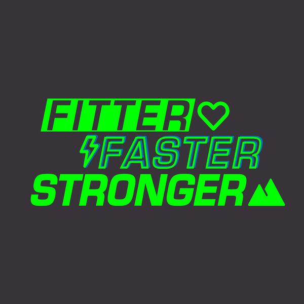 Fitter, Faster, Stronger  Podcast Artwork Image