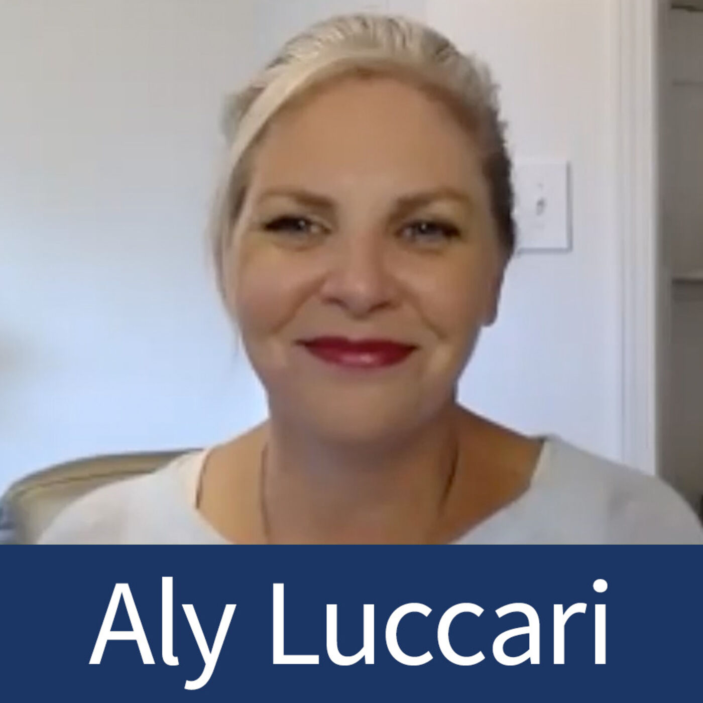 Aly Luccari - Bright Organizing - Virtual Organizing and Being Comfortable on Camera - Episode 22