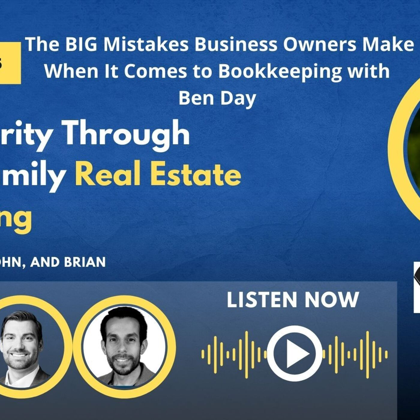 The BIG Mistakes Business Owners Make When It Comes to Bookkeeping with Ben Day