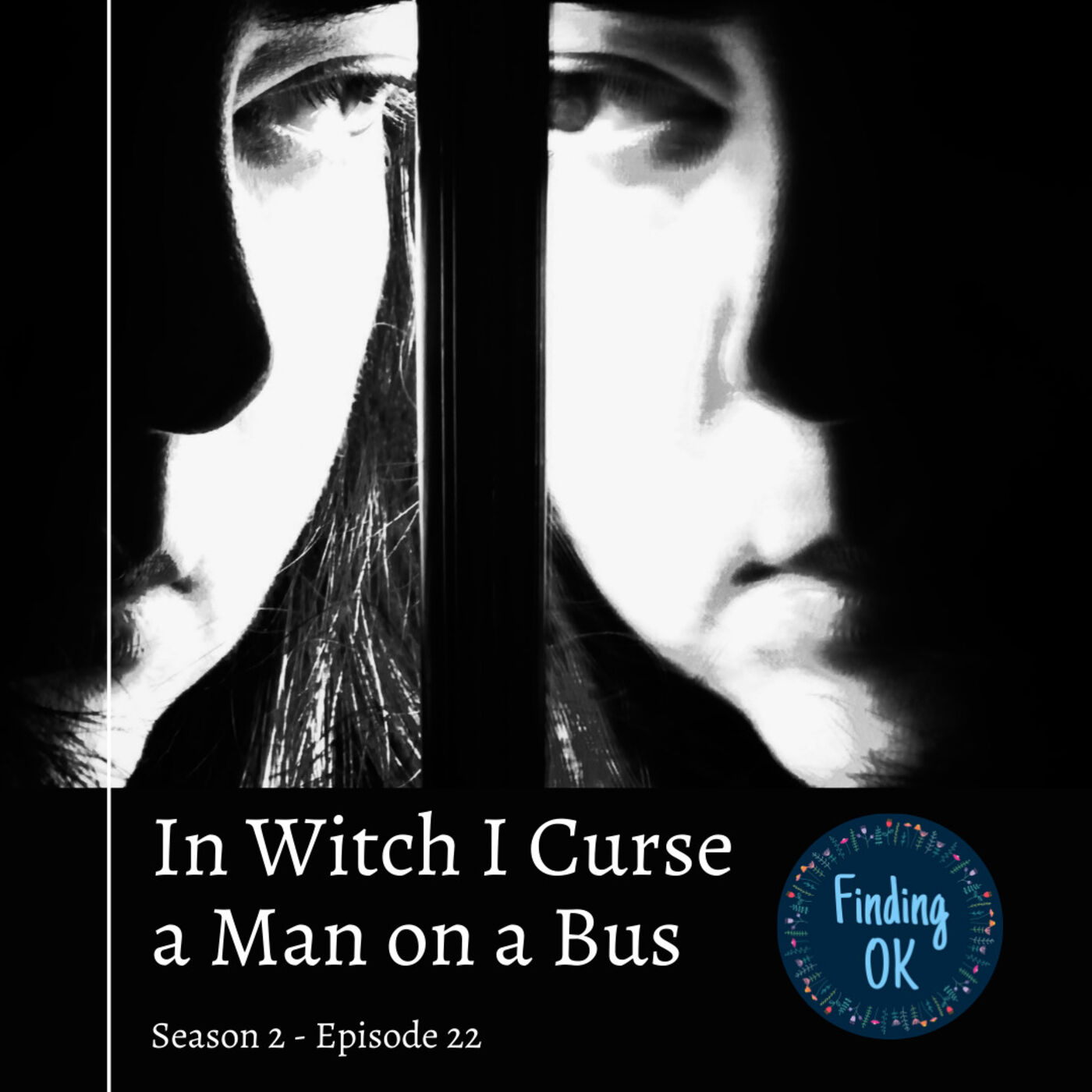 In Witch I Curse a Man on a Bus