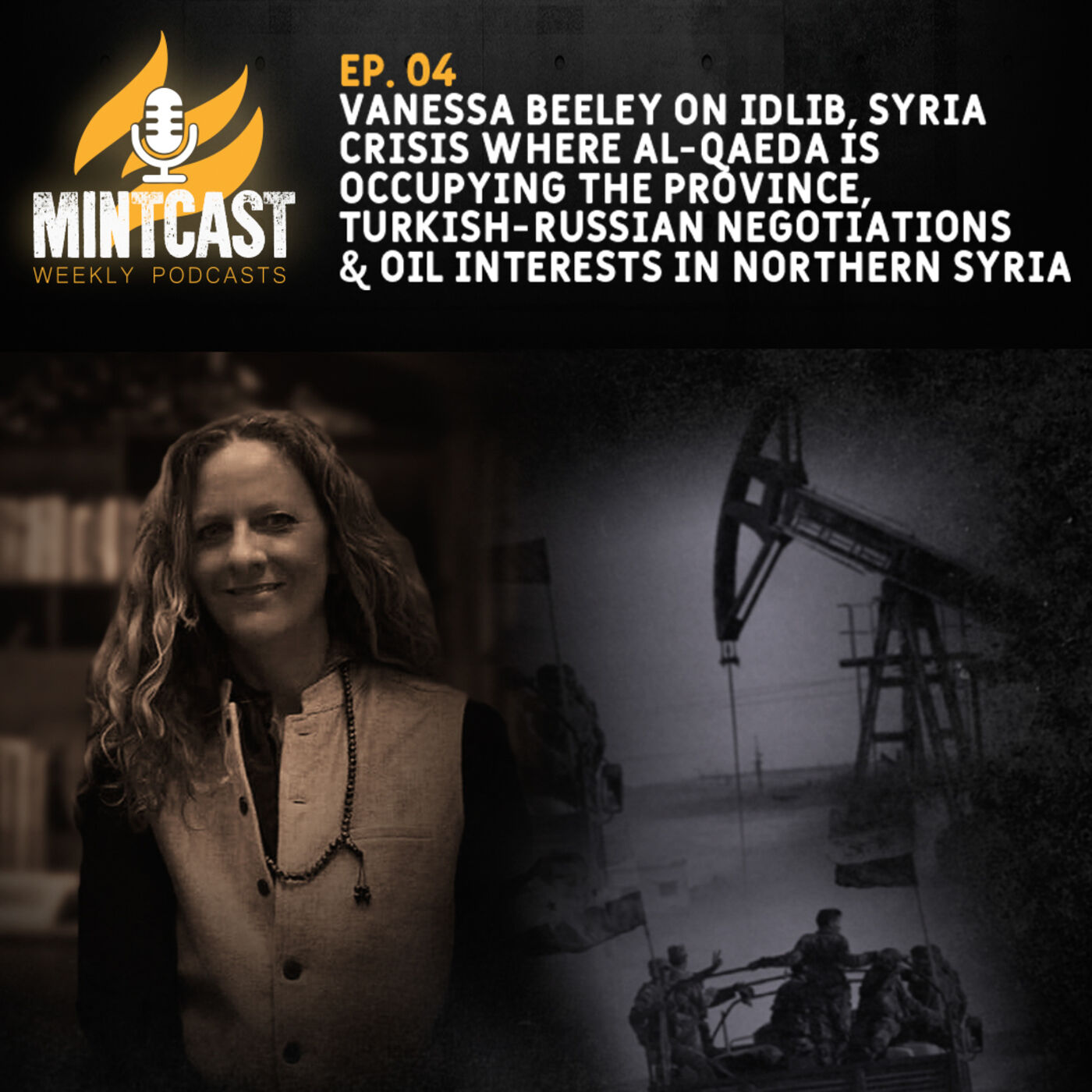 Vanessa Beeley Unpacks the Crisis in Idlib and the Fight for Syria's Oil, Gas and Water