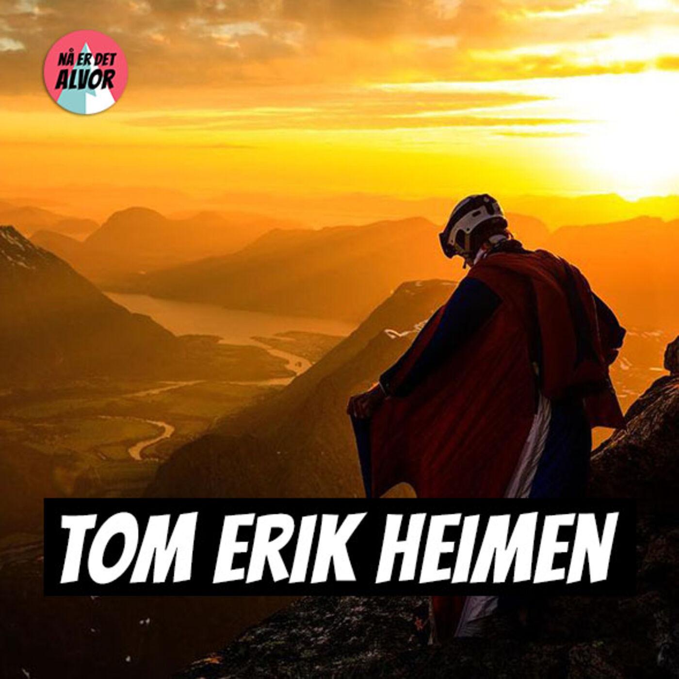#128 - Tom Erik Heimen   BASE-hopping, Løping, Risikoanalyse, Romsdalen, Fjellsport