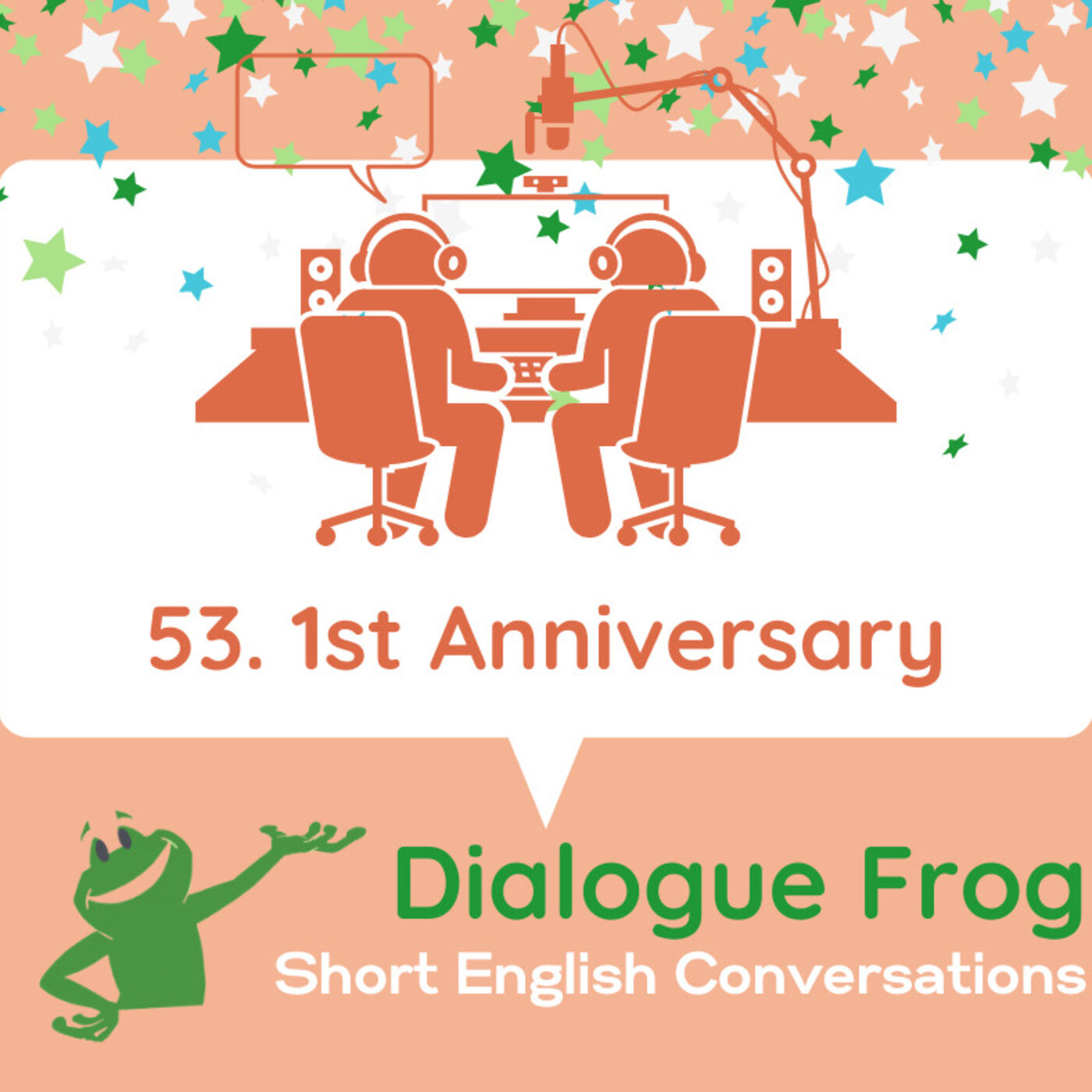 053 1st Anniversary & Behind the Scenes of Dialogue Frog's Natural Conversations in English