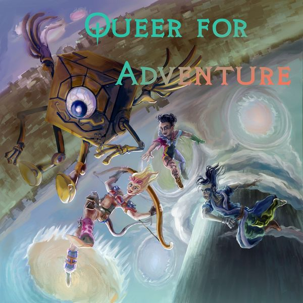 Queer for Adventure Podcast Artwork Image