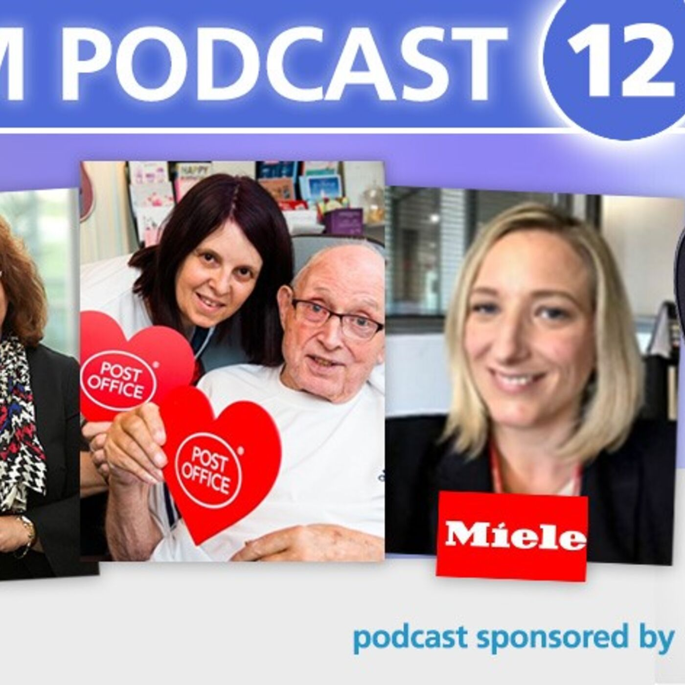 Care Home Management December podcast covering laundry, catering, in-home post offices and some politics