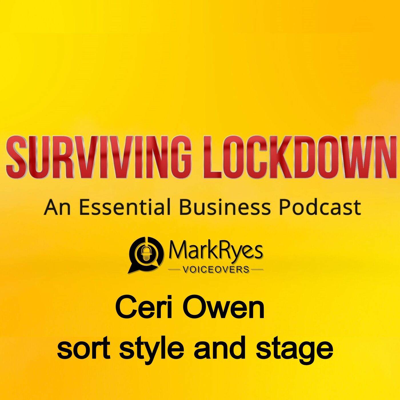 Ceri Owen - sort style and stage