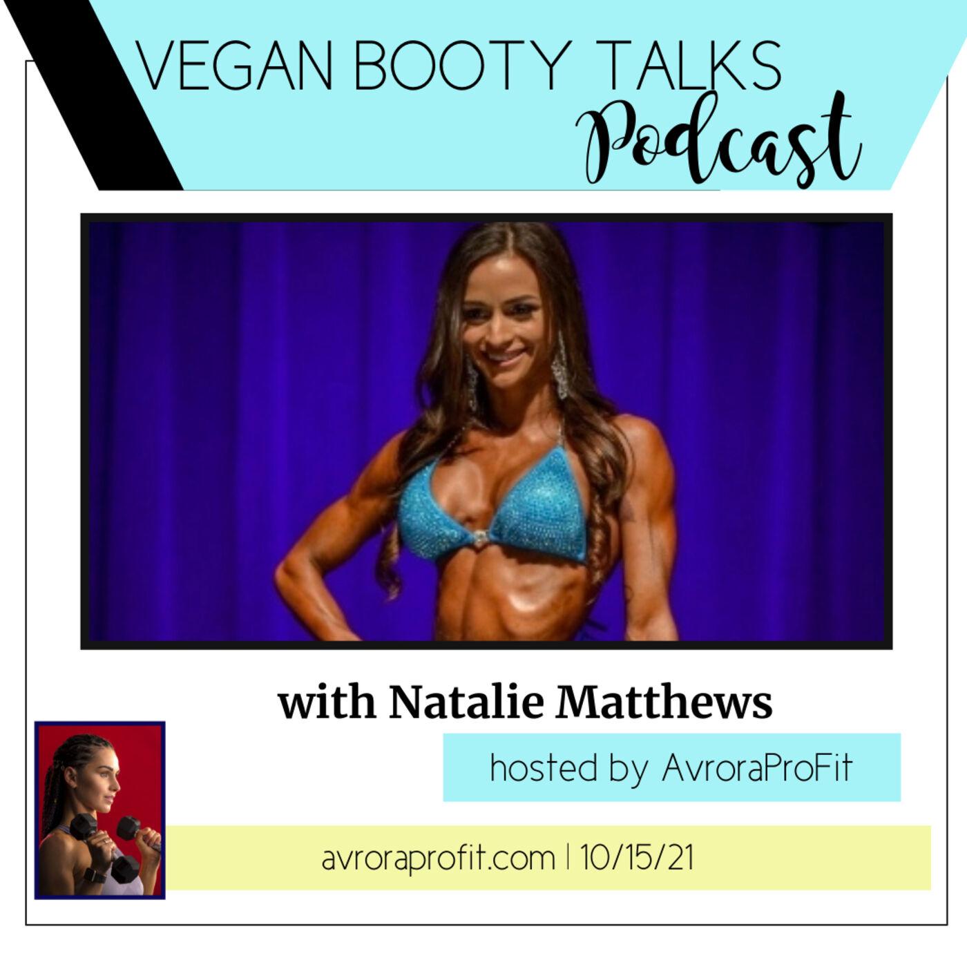 V.B.TALKS with VEGAN IFBBPro Natalie Matthews