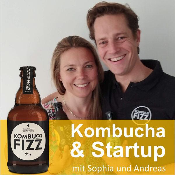 Kombucha & Startup - Gründergeist für eine bessere Welt mit Kombuco Fizz Podcast Artwork Image