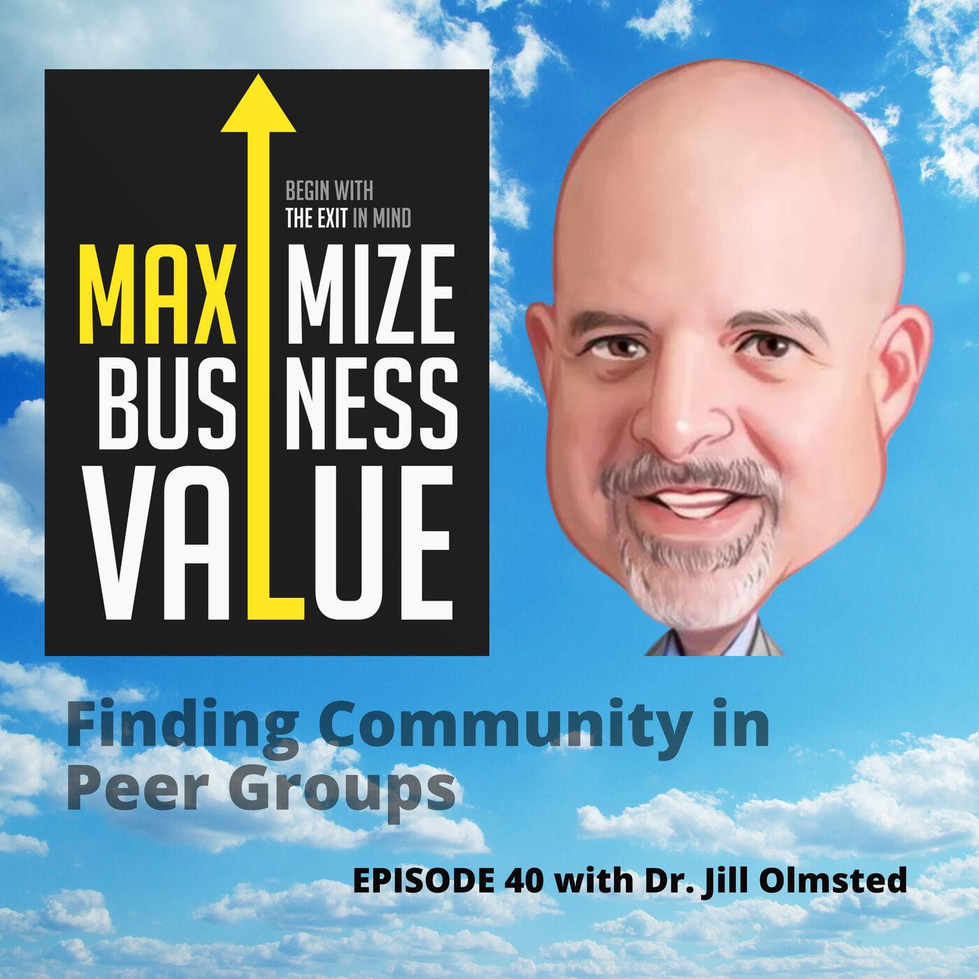 Finding Community in Peer Groups