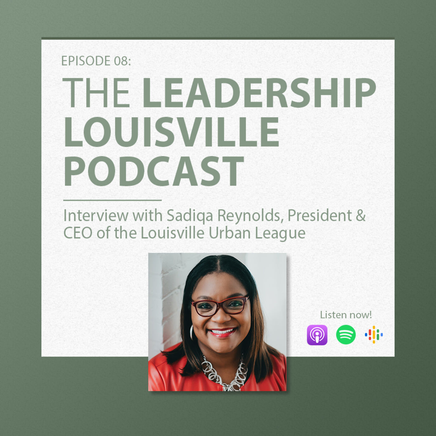 Sadiqa Reynolds, CEO of Louisville Urban League