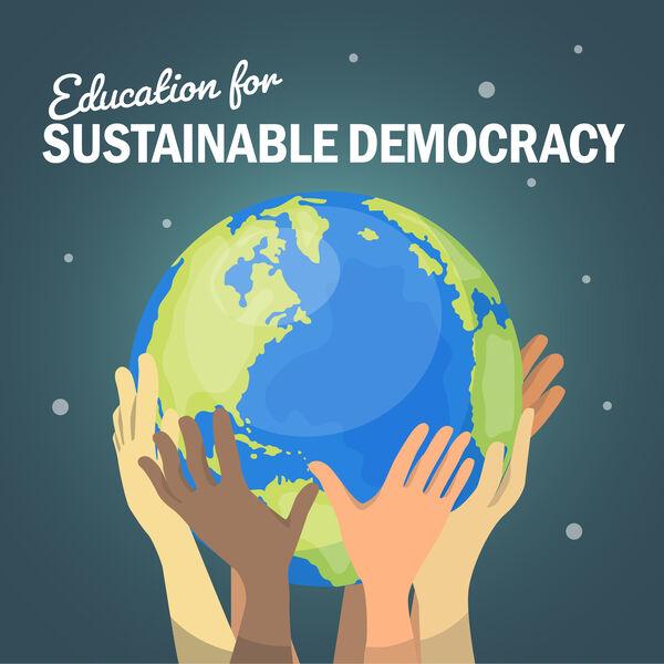 Education for Sustainable Democracy Podcast Artwork Image