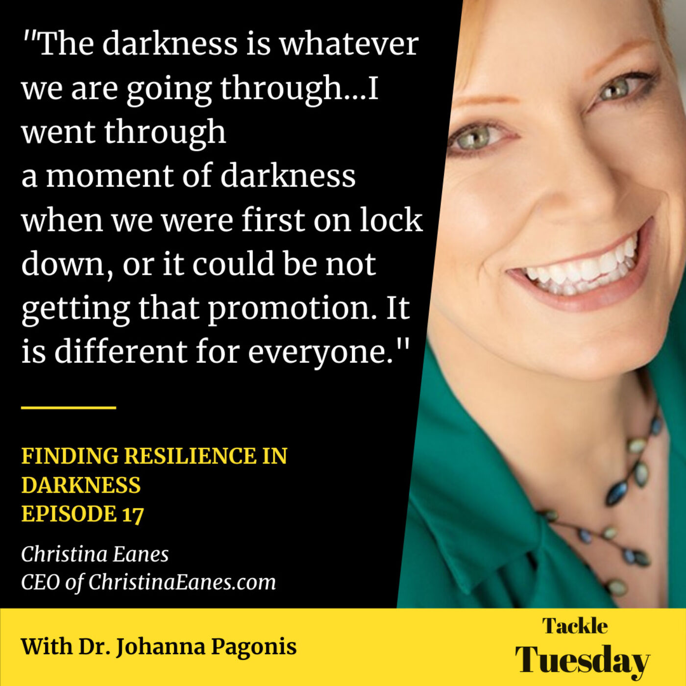 Ep. 17 Finding Resilience in Darkness