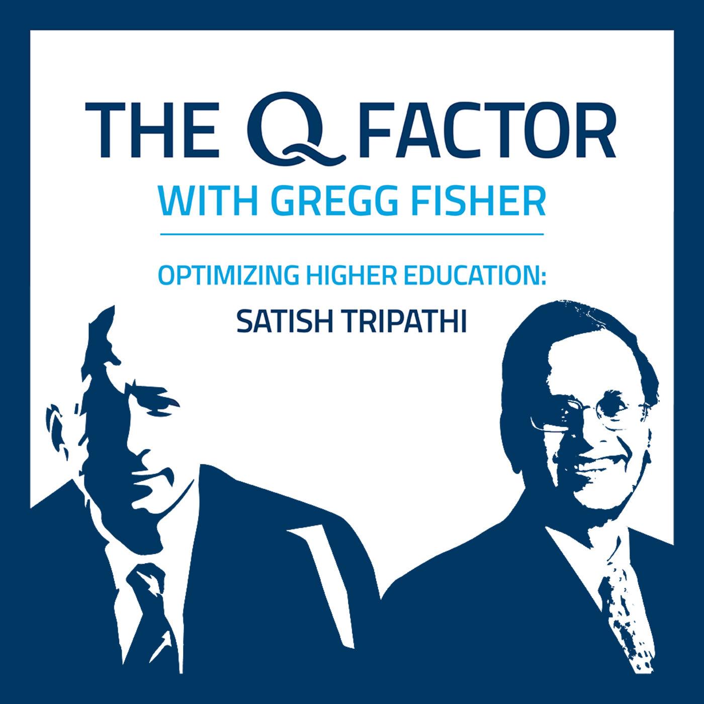 Satish Tripathi: Optimizing Higher Education