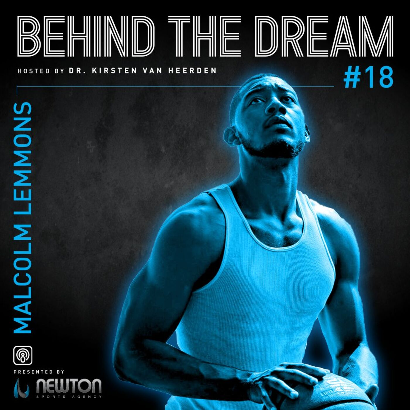Episode #18: Malcolm Lemmons - former professional basketball player & now author, entrepreneur & mental health advocate