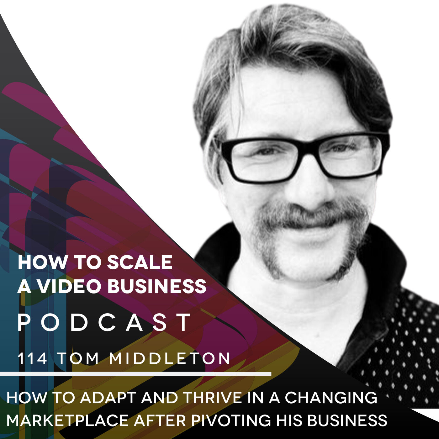 How to Adapt and Thrive in a changing marketplace after pivoting his business EP#114 - Tom Middleton