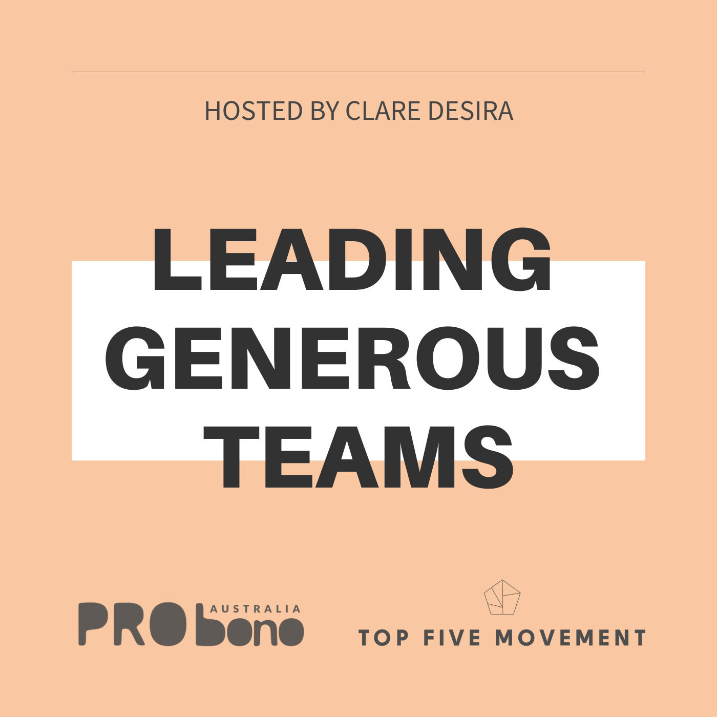 Leading Generous Teams podcast show image