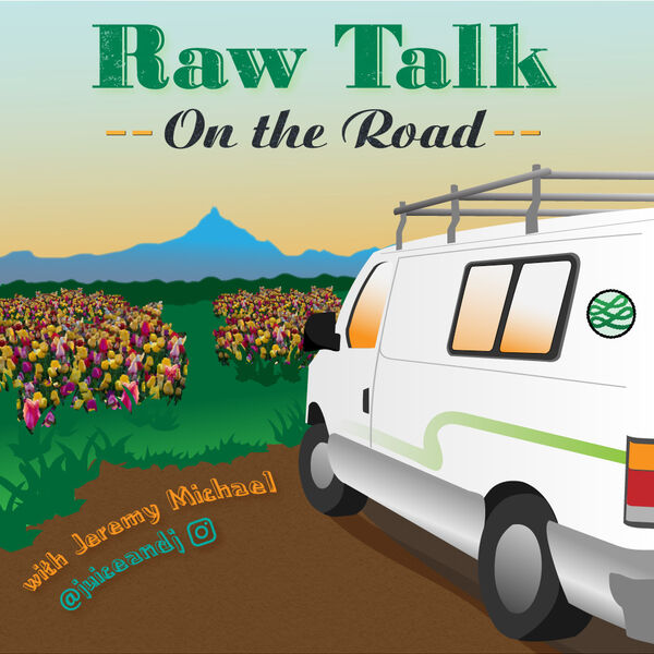 Raw Talk on the Road Podcast Artwork Image