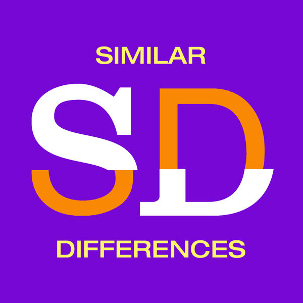 Similar Differences Podcast Podcast Artwork Image