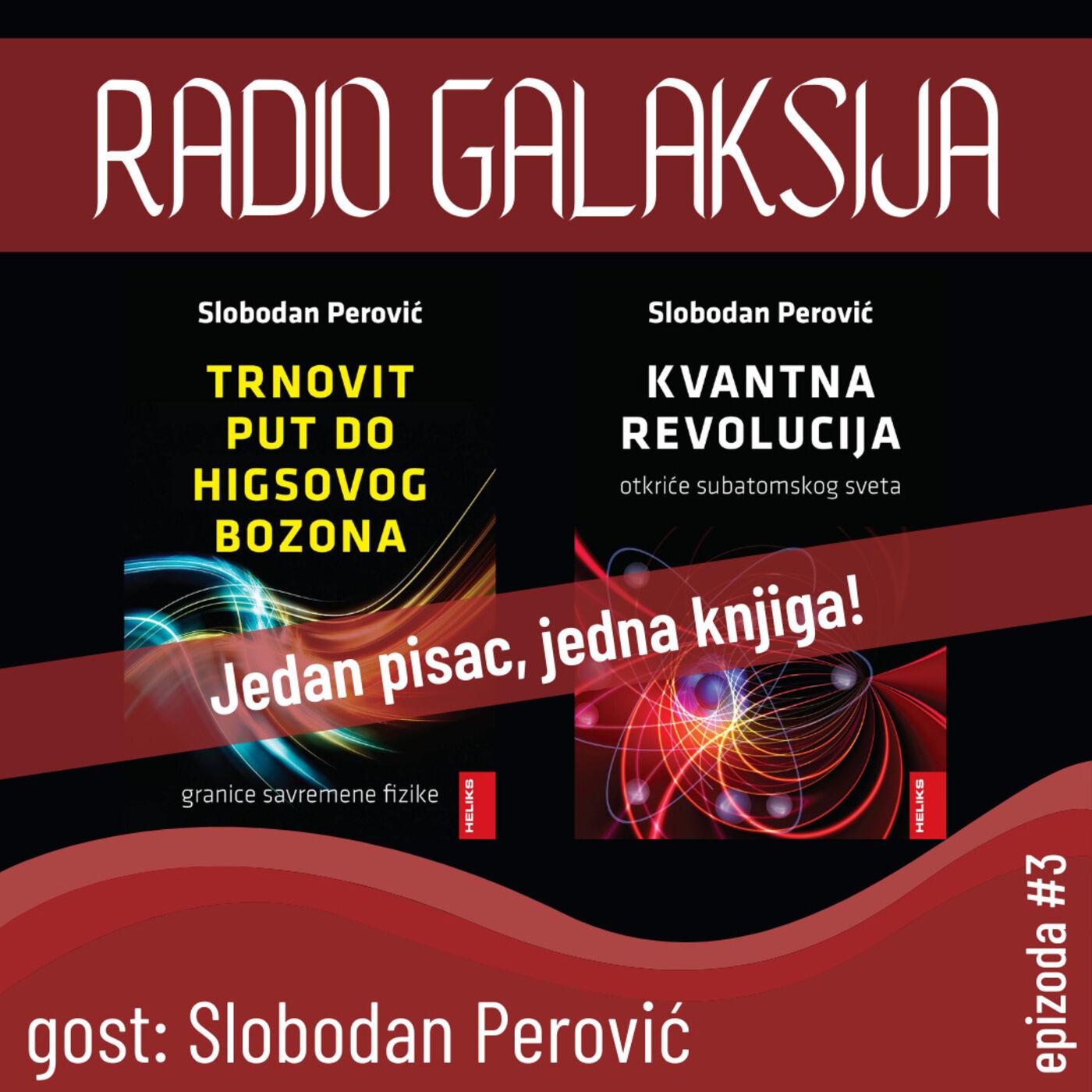 Jedan pisac, jedna knjiga! #3: Slobodan Perović [23-02-2021]