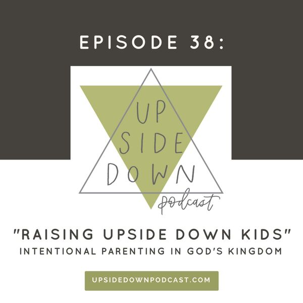 Upside Down Podcast Podcast Artwork Image