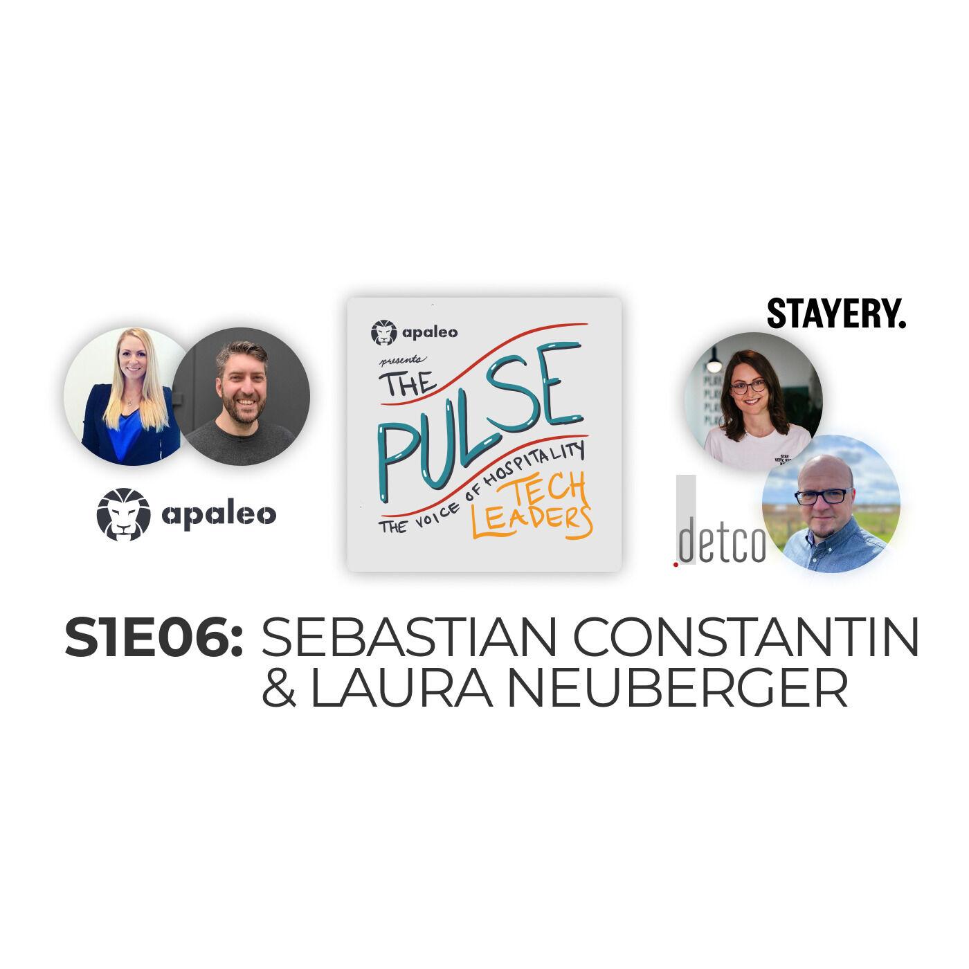 """Customization & Simplicity"" Stayery's Laura Neuberger & detco's Sebastian Constantin"