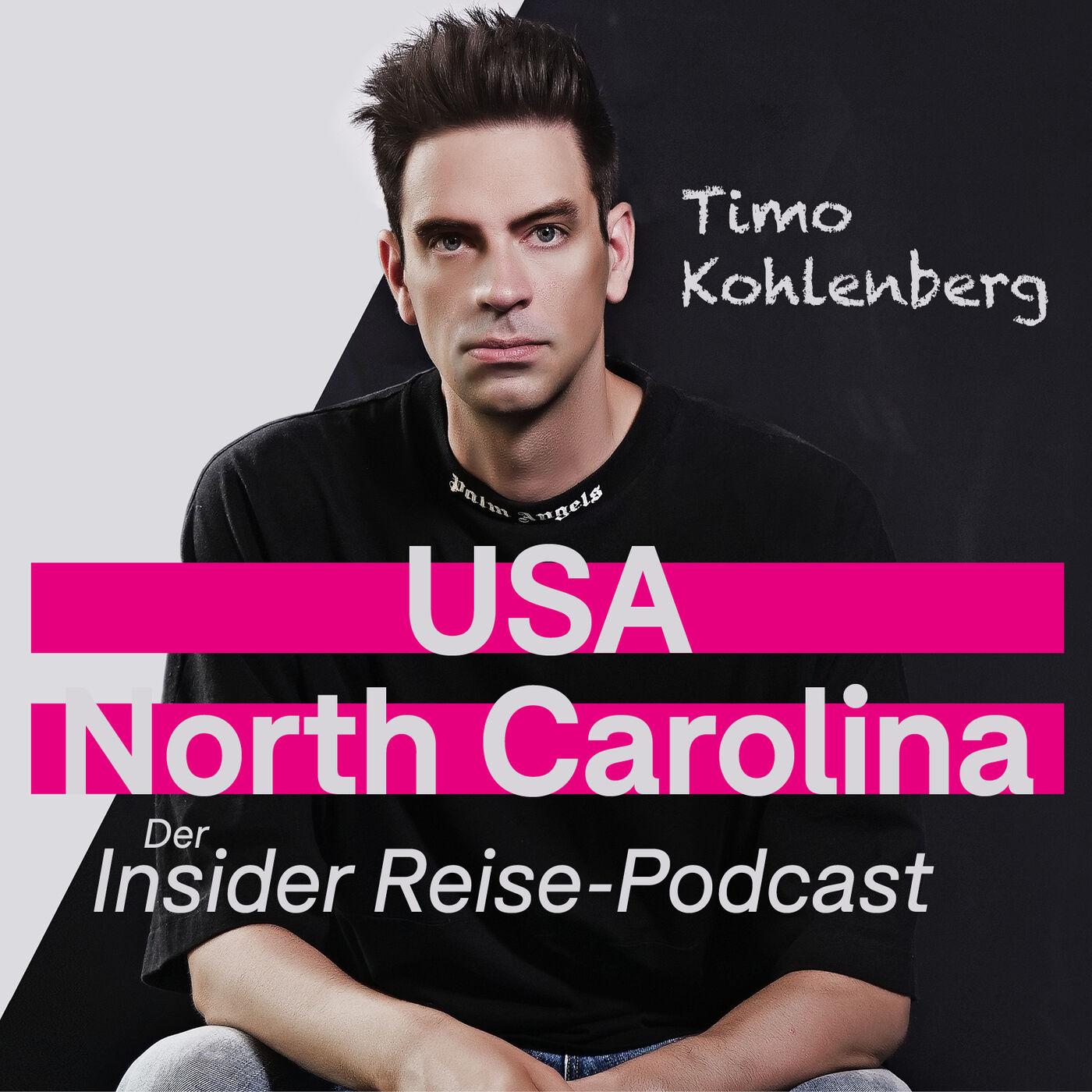 North Carolina: Mit wilden Mustangs und 750 PS vom Strand auf die Straße | Der Insider Reise Podcast mit Timo Kohlenberg