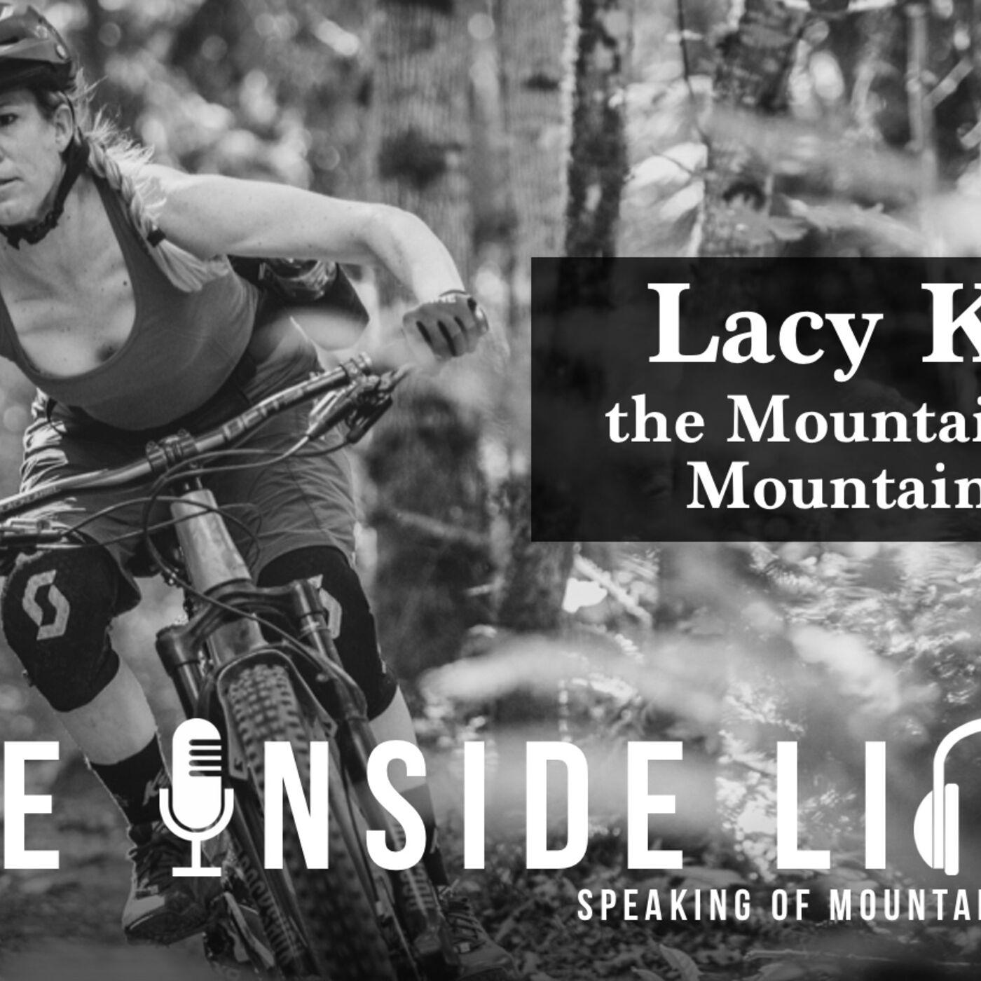 LACY KEMP - The Inside Line Podcast