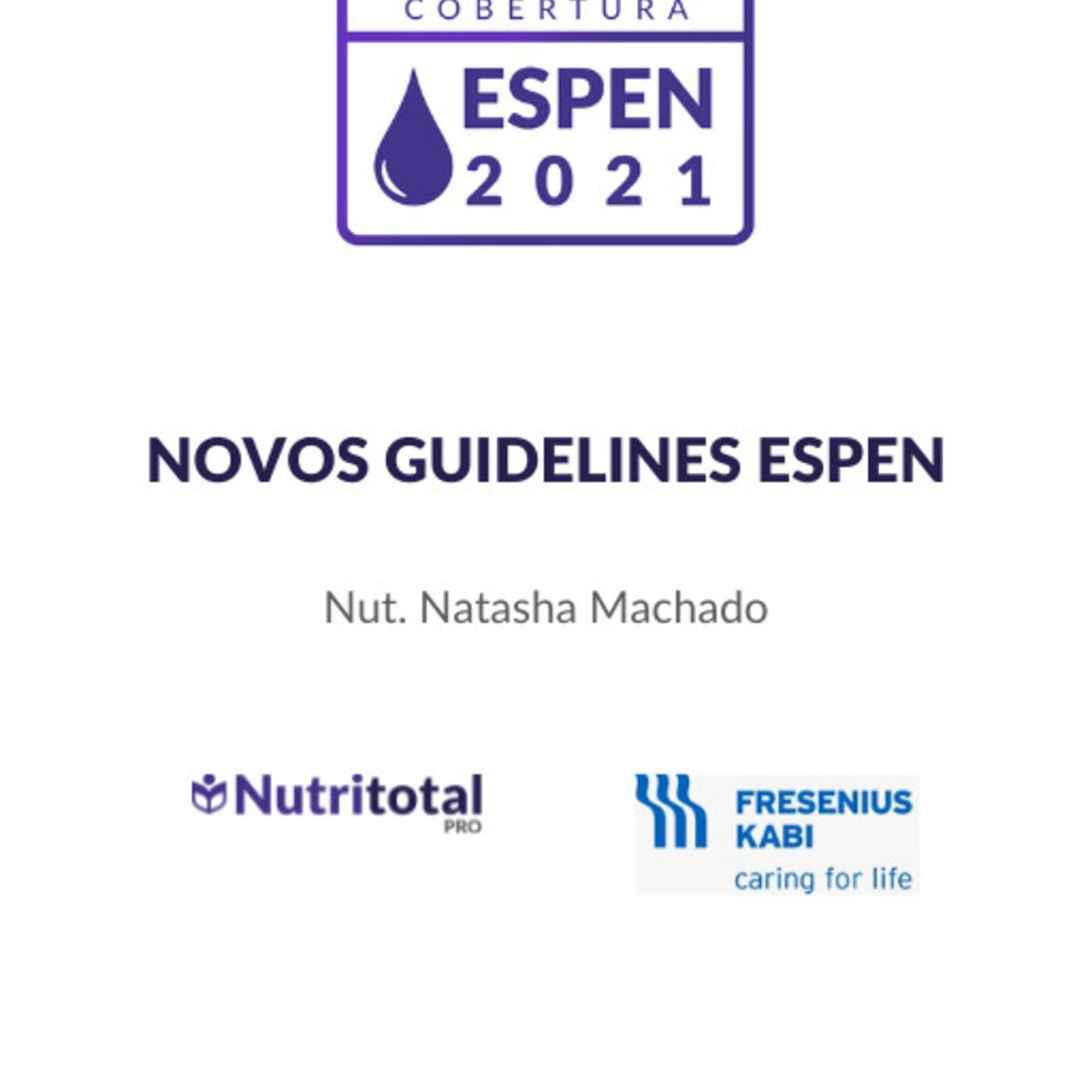 Congresso ESPEN 2021: Novos Guidelines ESPEN