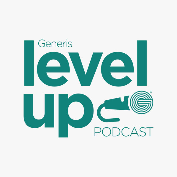 Generis Level Up Podcast Podcast Artwork Image