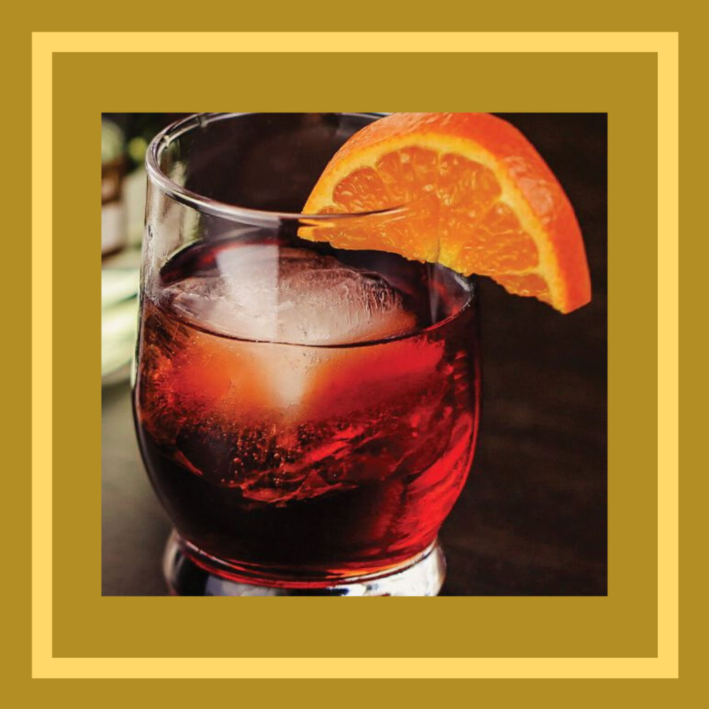 I'll Have a (Count) Negroni!