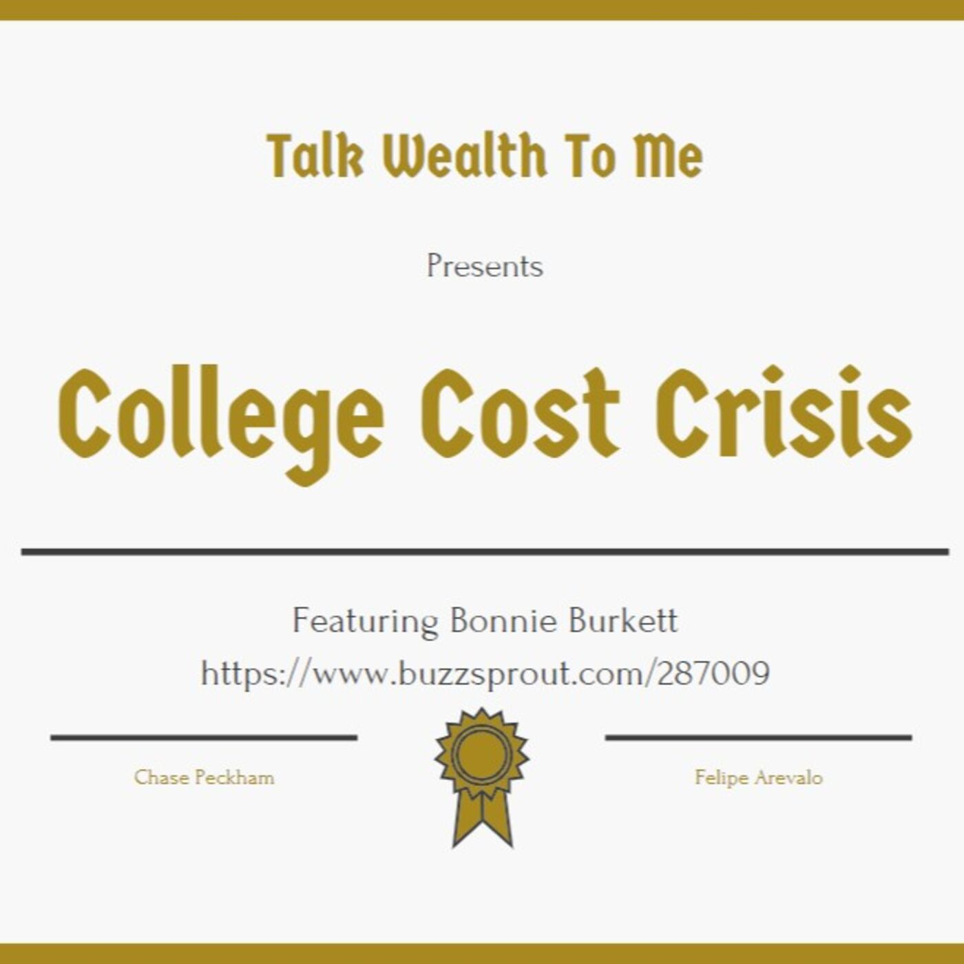 #058 College Cost Crisis with Bonnie Burkett