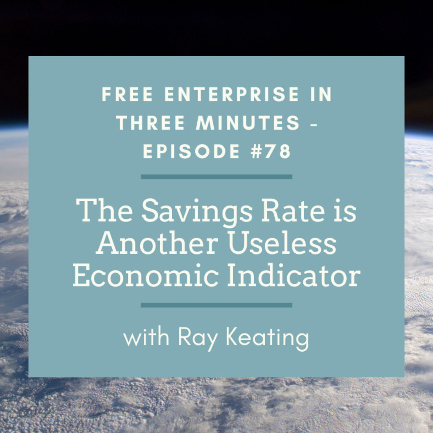 Episode #78: The Savings Rate is Another Useless Economic Indicator