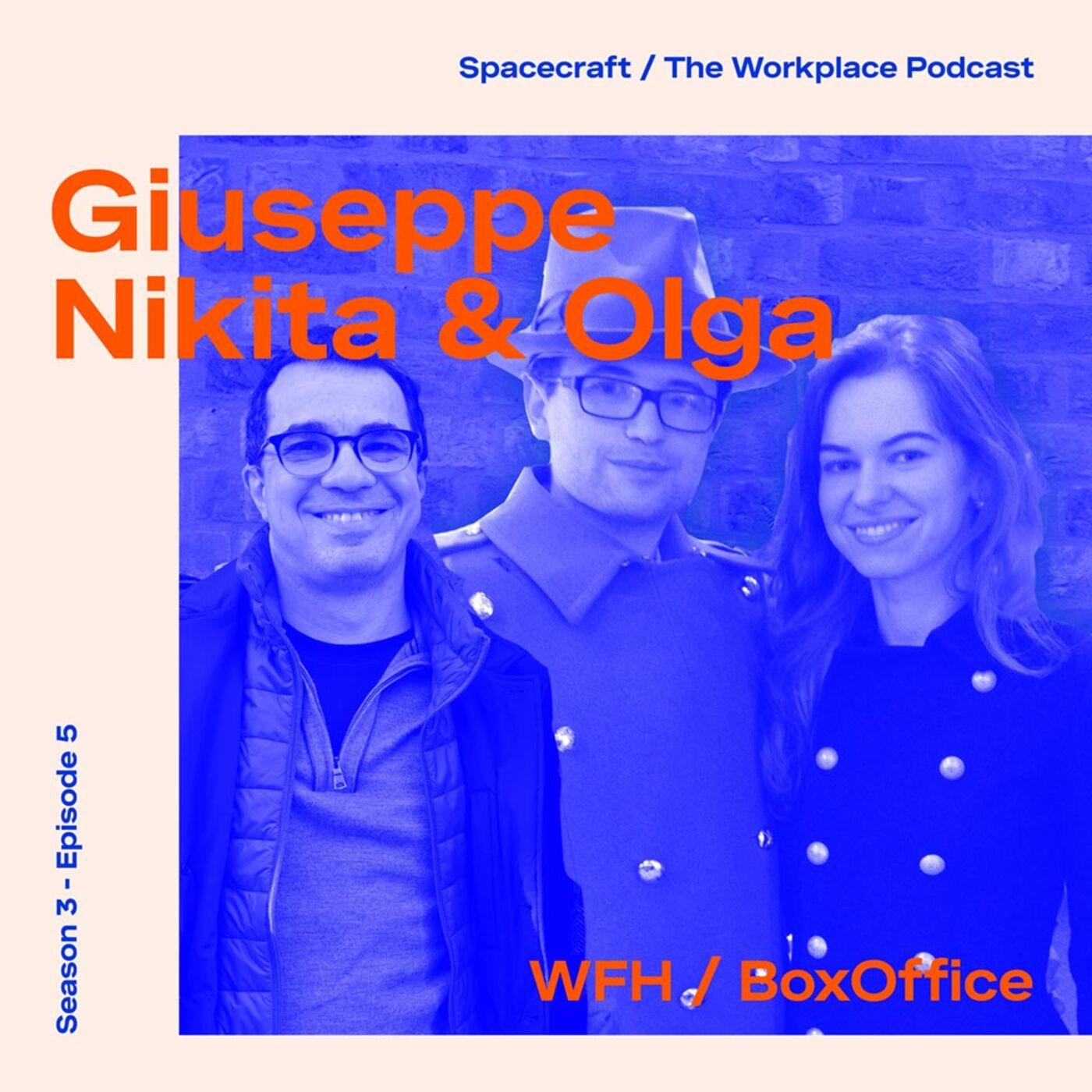 Giuseppe Boscherini, Nikita Mikhailov & Olga Vysotska — How are you feeling?