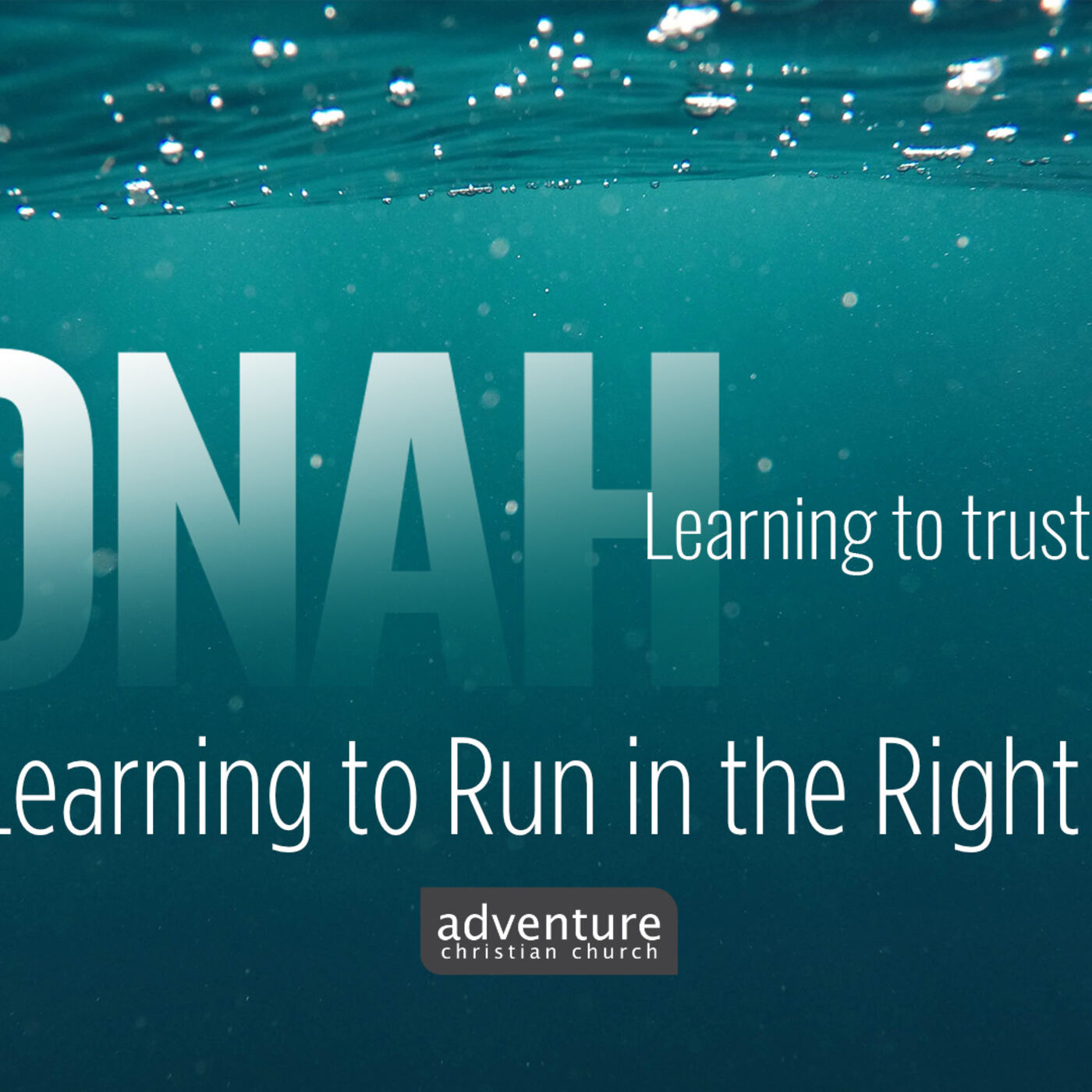 Jonah - Week 2: Learning to Run in the Right Direction