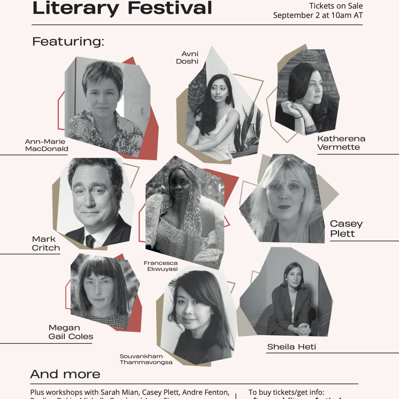 Episode 48:  AfterWords Literary Festival with Stephanie Domet