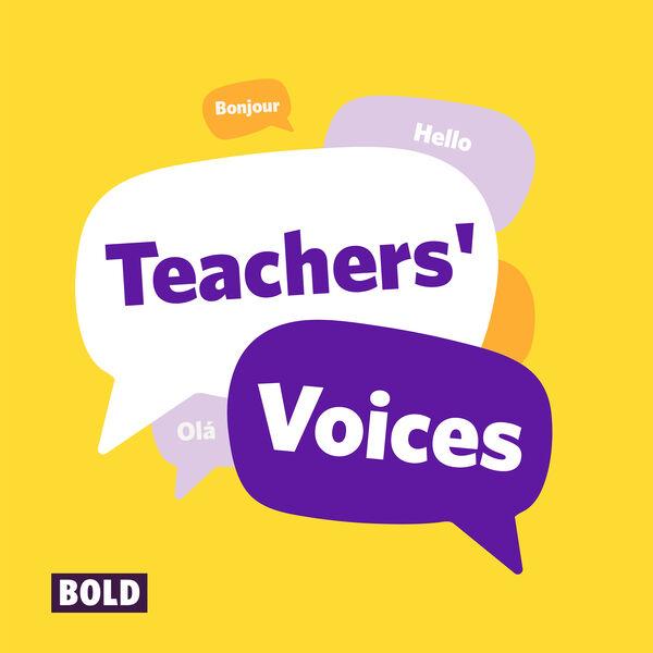 Teachers' Voices Podcast Artwork Image