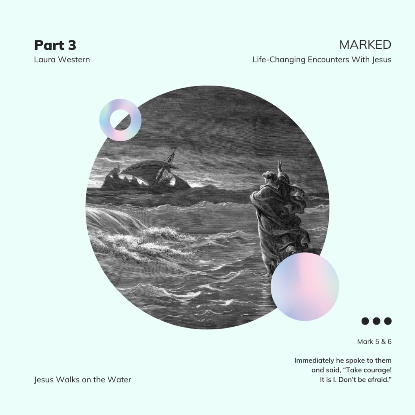 MARKED. Life-Changing Encounters With Jesus - Mark 6:45-56 - Laura Western