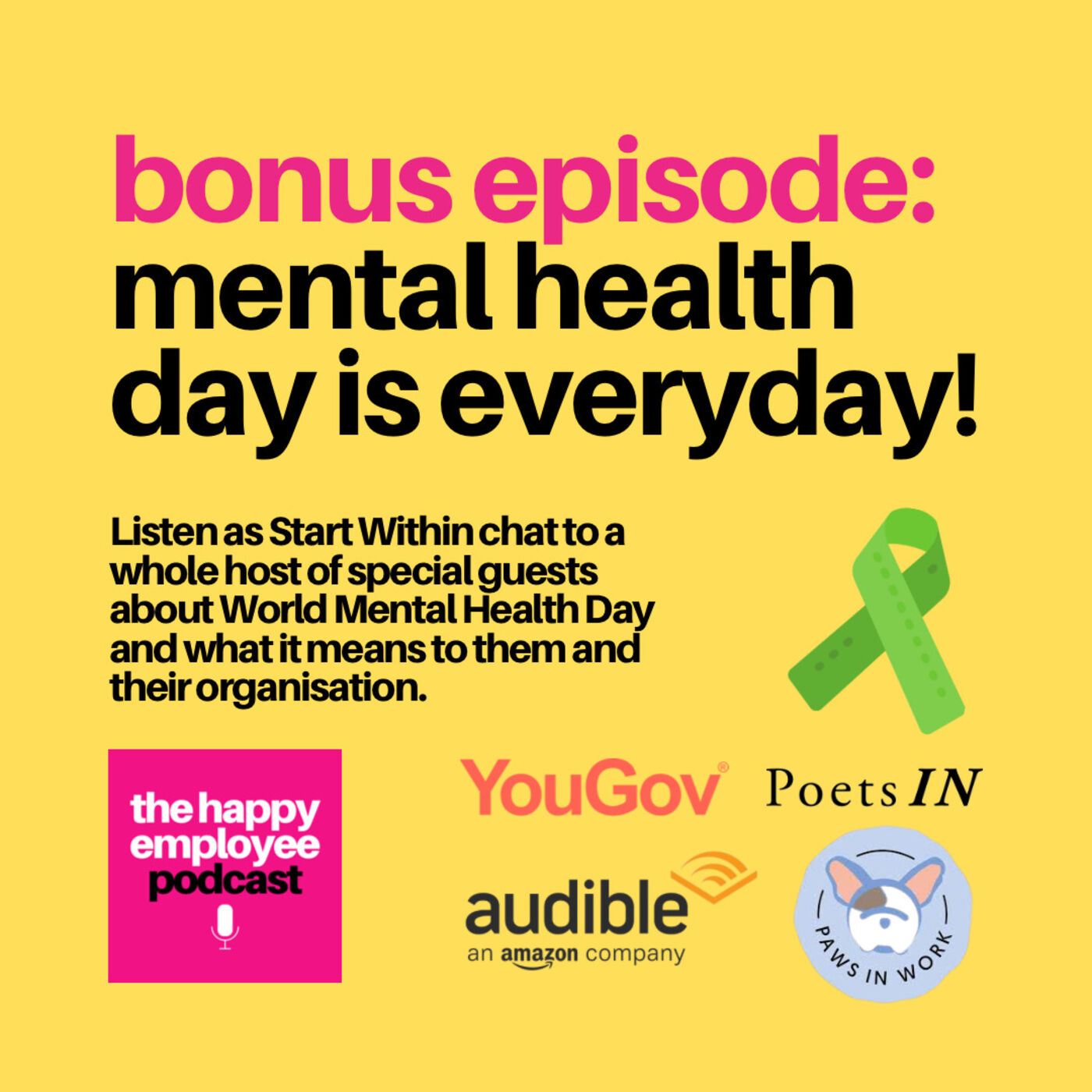 Mental Health Day is Everyday!