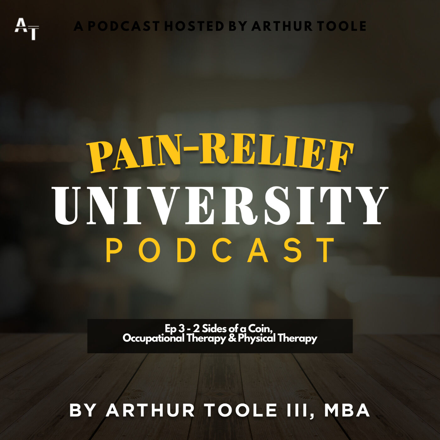 Ep 3 - 2 Sides of a Coin, Occupational Therapy & Physical Therapy