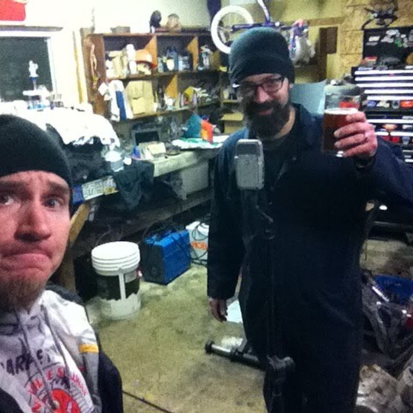 ClevelandMoto Podcast 12 One From Vaults Phil and Dustin record from the garage for the first time.