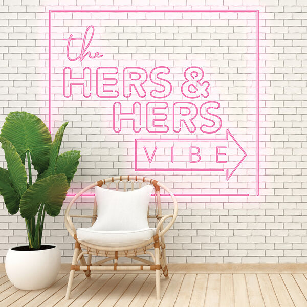 The Hers & Hers Vibe  Podcast Artwork Image