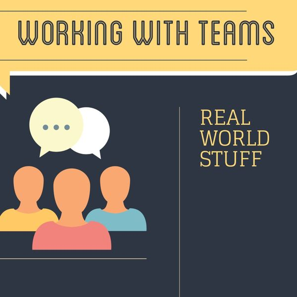 Working with teams Podcast Artwork Image