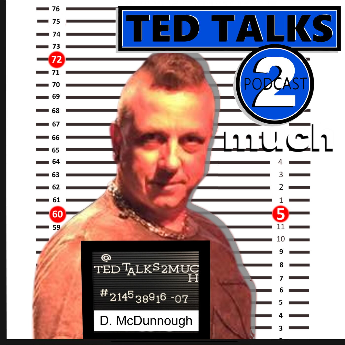 TED TALKS 2 Darren McDunnough (Way 2 Much) ... about Corn Holing, Step Parenting and the Great Golf Debate.