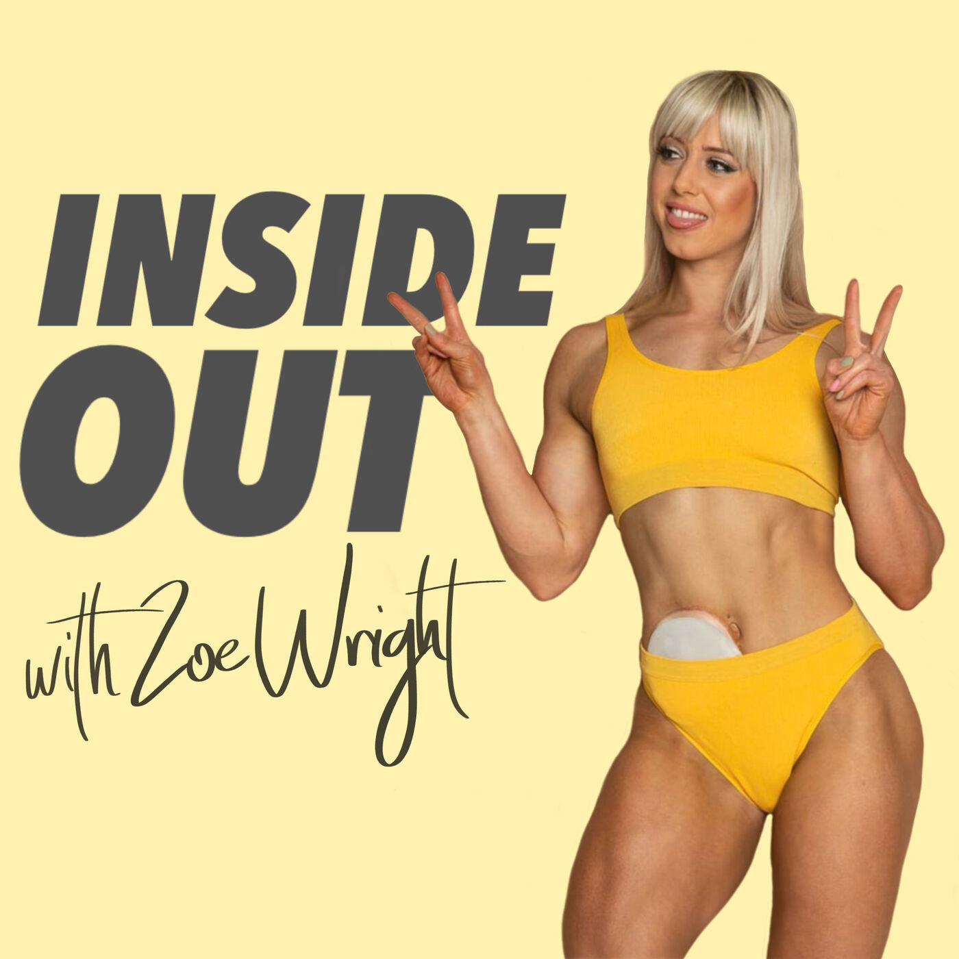 Inside Out with Zoe Wright; Journey to Fitness Model
