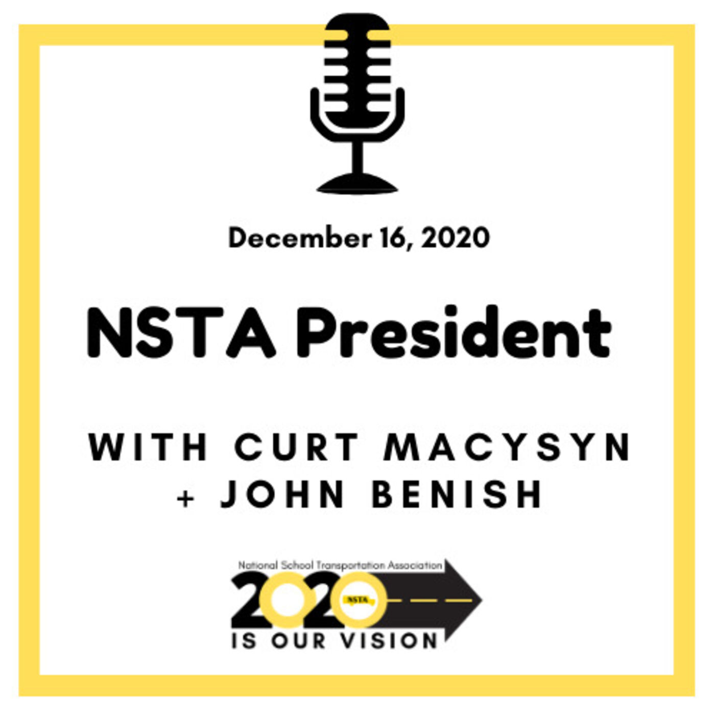 NSTA President | John Benish, COO of Cook Illinois