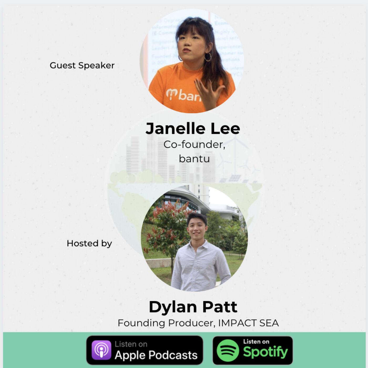 Driving Impact through the eyes of a Social Enterprise - Janelle Lee, bantu