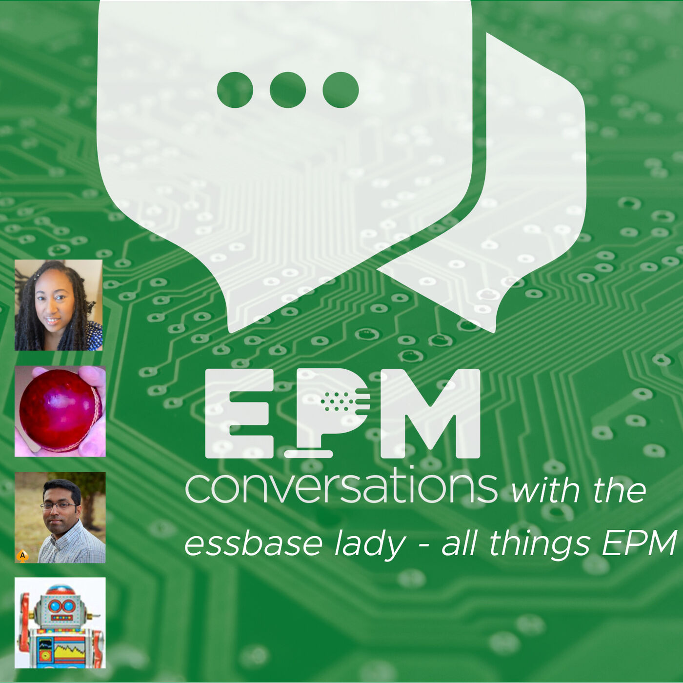 EPM Conversations — Episode No. 2 Part 1, a conversation with Essbase Lady, Natalie Delemar